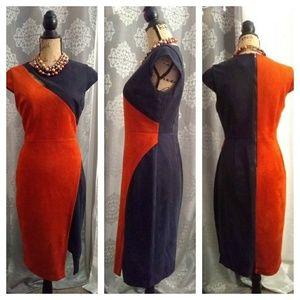 Beige by eci dress sz 6
